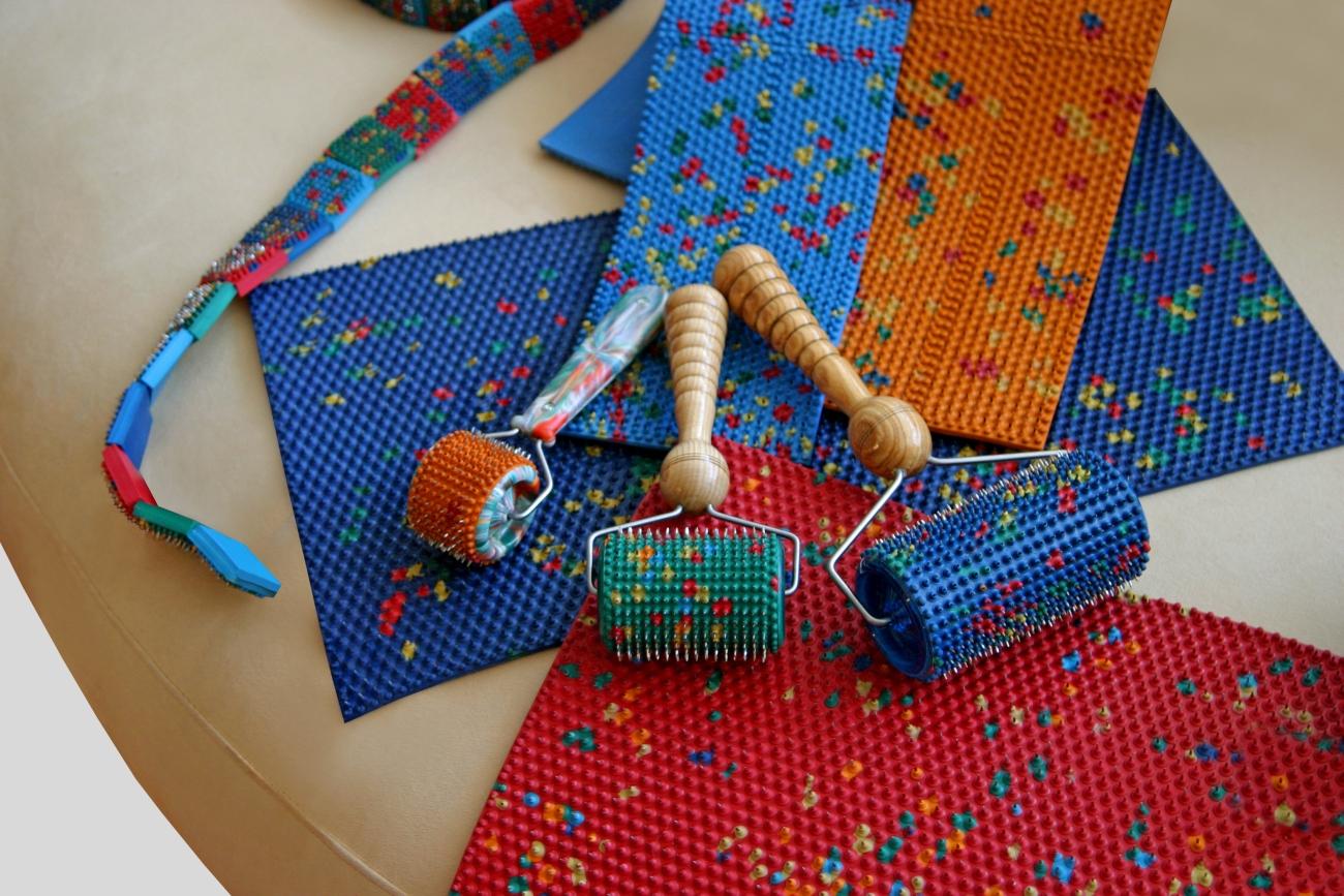 Колючий коврик для спины