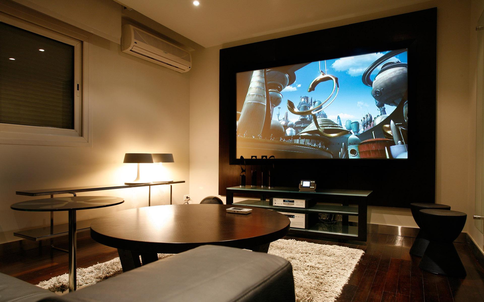 Картинки квартир с телевизором