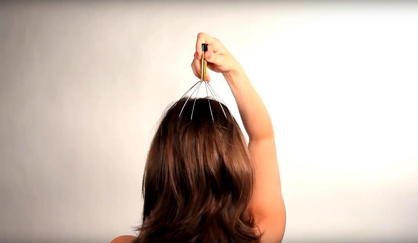 Чем полезен массажер для головы мурашка