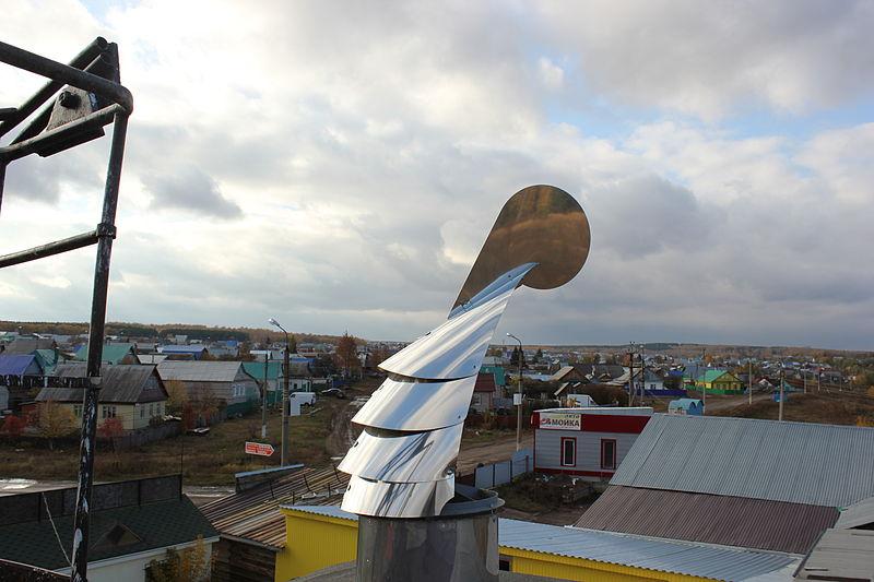 Насадка на вентиляционную трубу на крыше