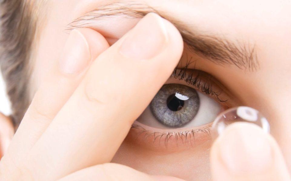 Глазные капли для увлажнения линз
