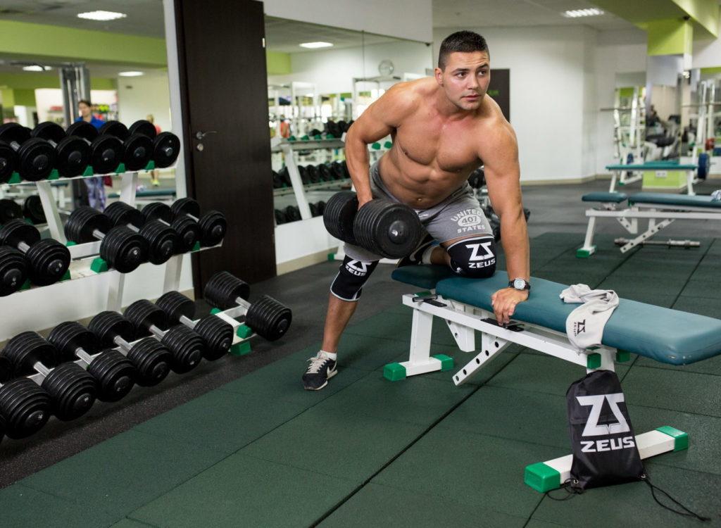 Фиксатор коленного сустава для спортсменов