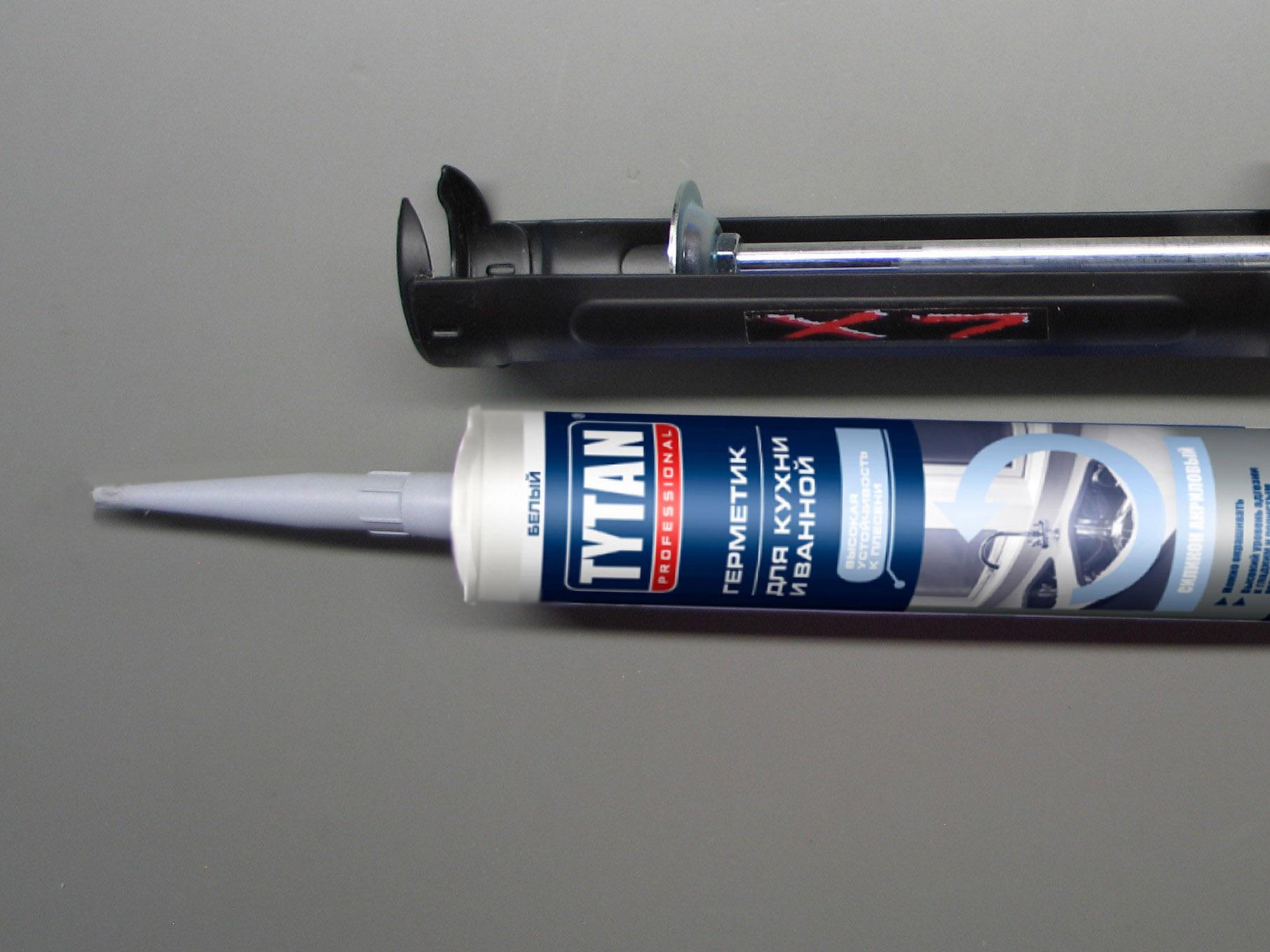 Герметик силиконакриловый Tytan Professional