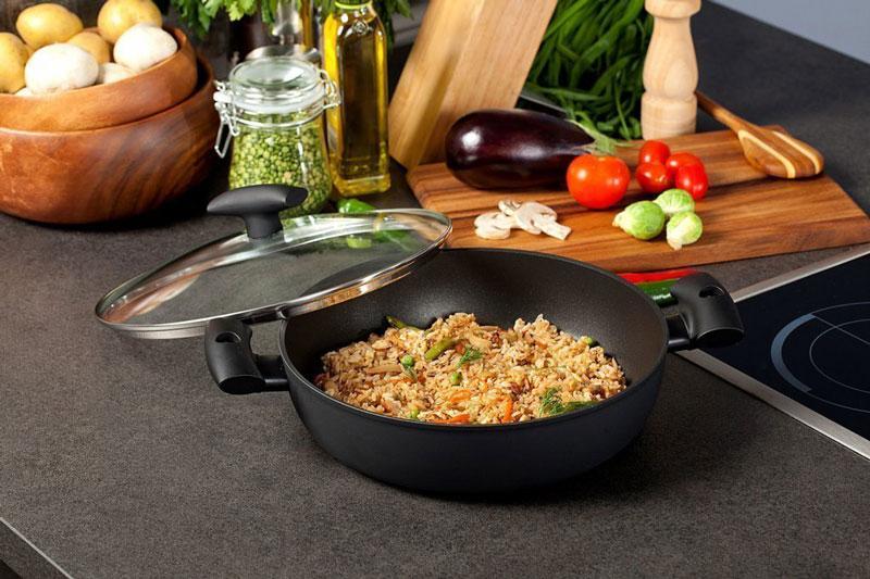 Как выбрать сковороду с каменным покрытием. Рейтинг лучших сковородок с каменным покрытием